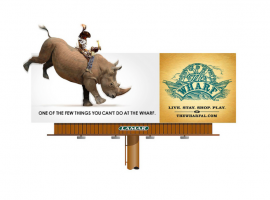 Billboard by The Virtue Agency | The Wharf Rhino