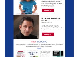 Email Newsletter Design by The Virtue Agency | Dr. Robert Melillo