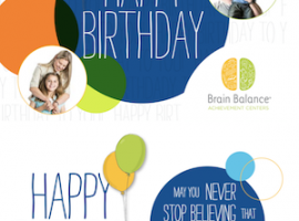 Brain Balance: Happy Birthday